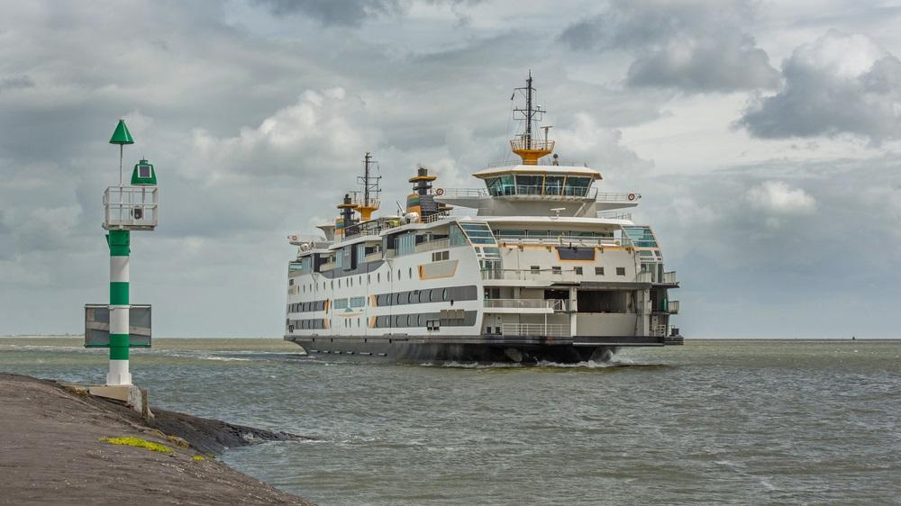 Met de veerboot naar Texel